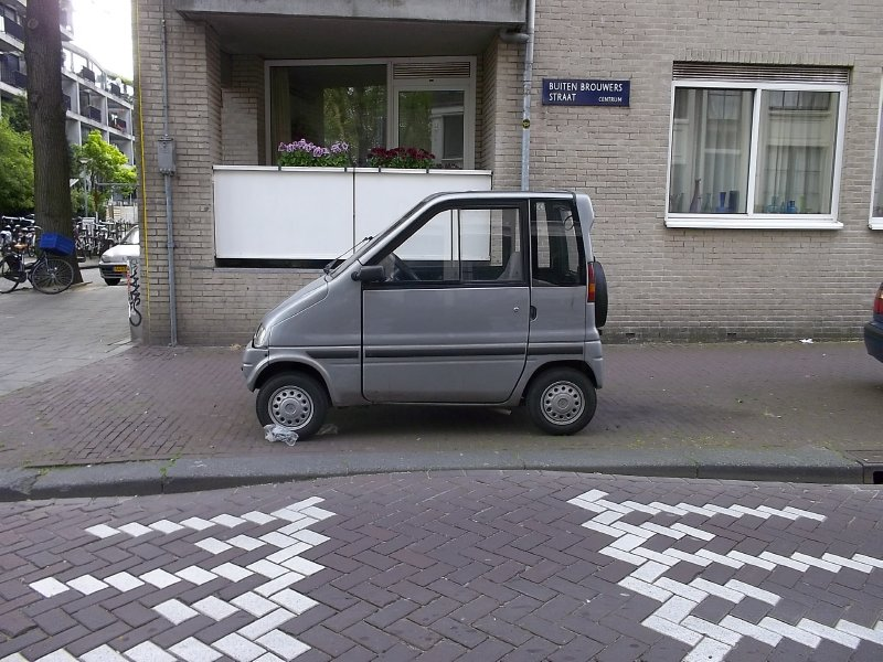 NL_parking in Amsterdam