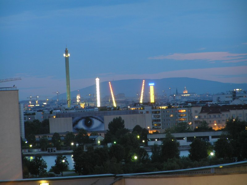 VIENNA_night view on Prater