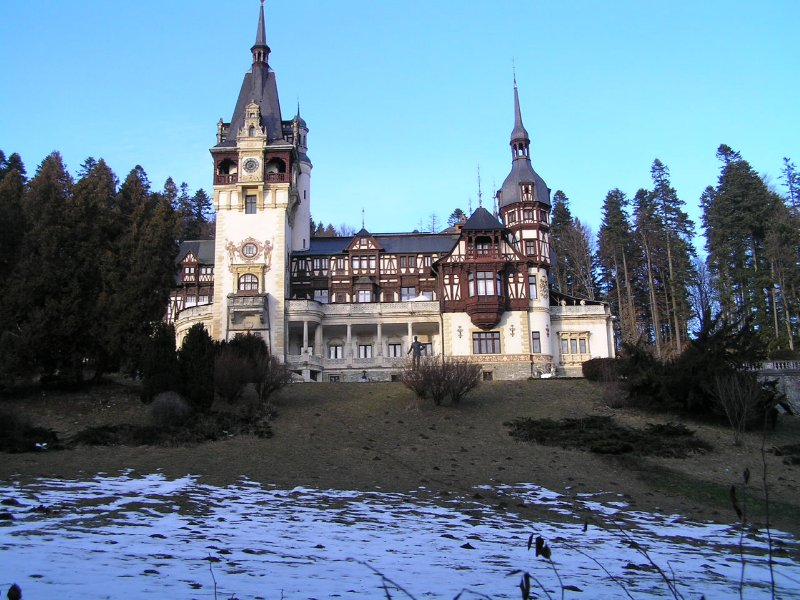 ROMANIA - Pelesh Castle in Sinaia