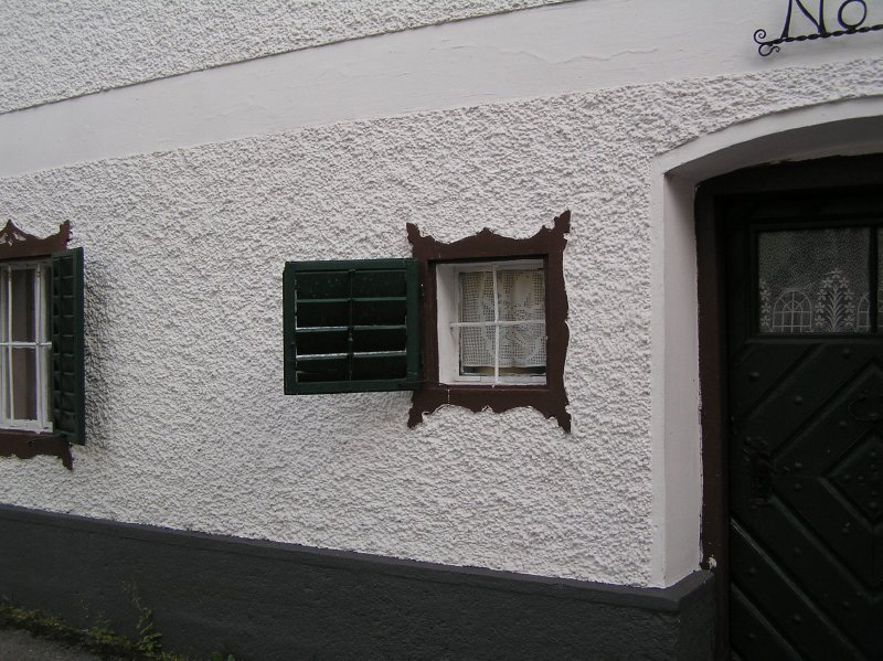 AU_Bad Ischl - window in house no 15