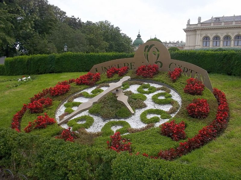 AU_V_clock in Stadtpark