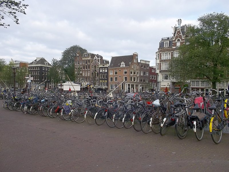 NETHERLANDS_Amsterdam bicycles
