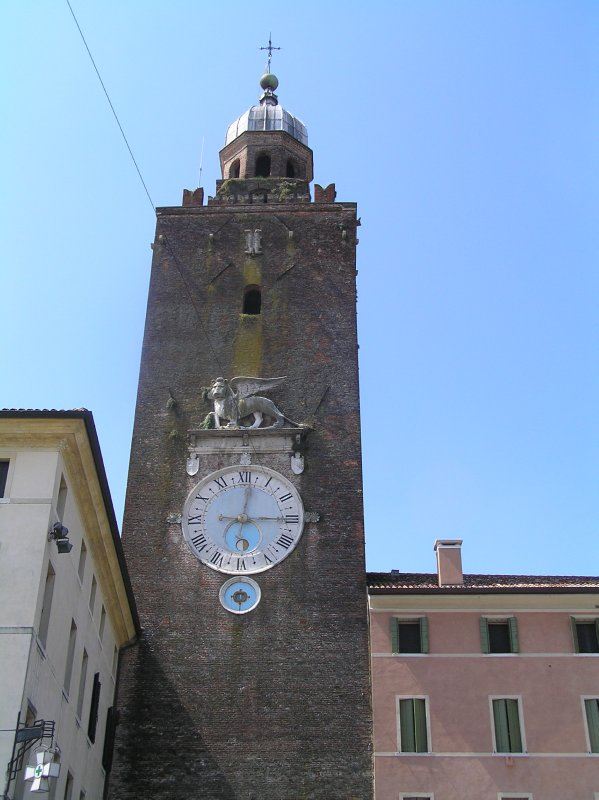 ITALY_Castelfranco Veneto - clock tower