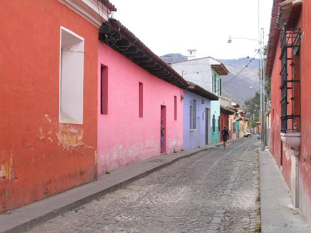 GUATEMALA - Antigua street