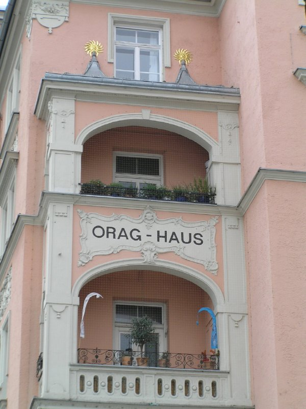 GERMANY_Munich - Orag-haus bacony