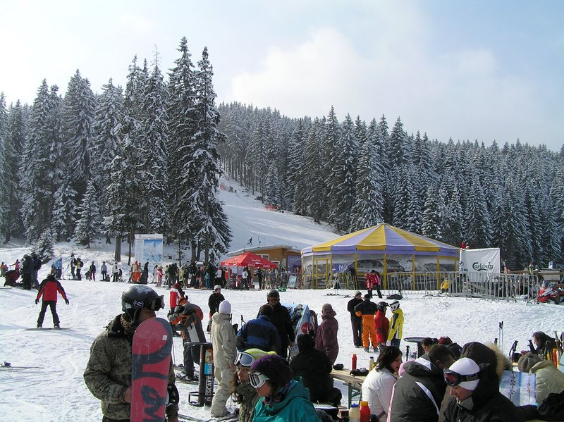 BULGARIA - Bansko - meeting point