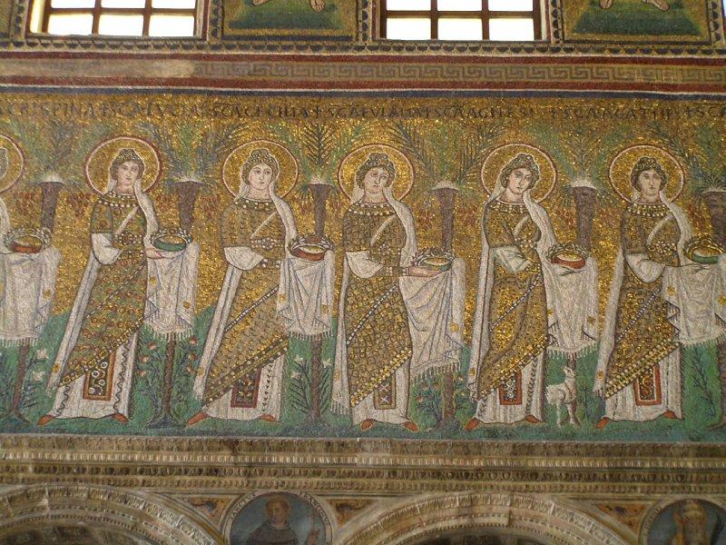 ITALY_Ravenna - mosaics of S.Apollinare Nuovo