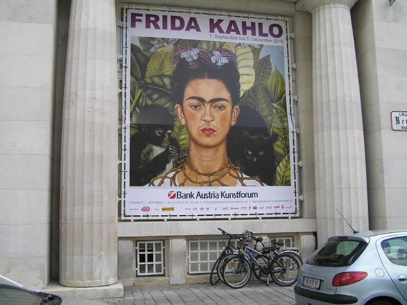 Frida Kahlo - Exhibition in Vienna