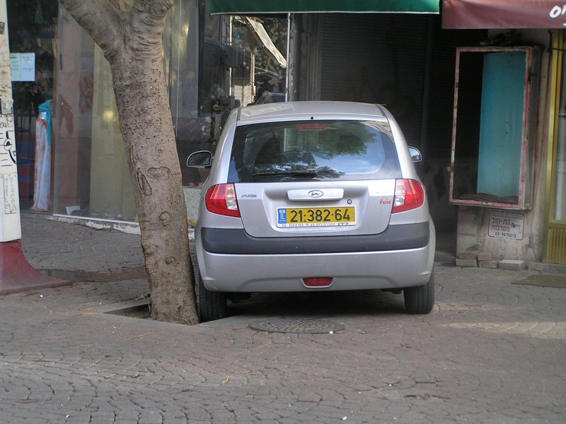 ISRAEL - Parking in Tel Aviv