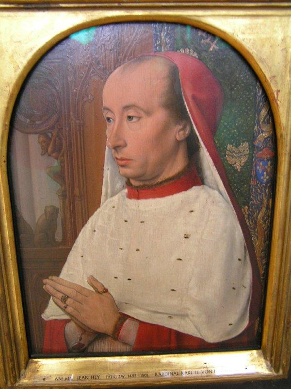 Putin? (Middelage painting in Munich Alte Pinakothek)