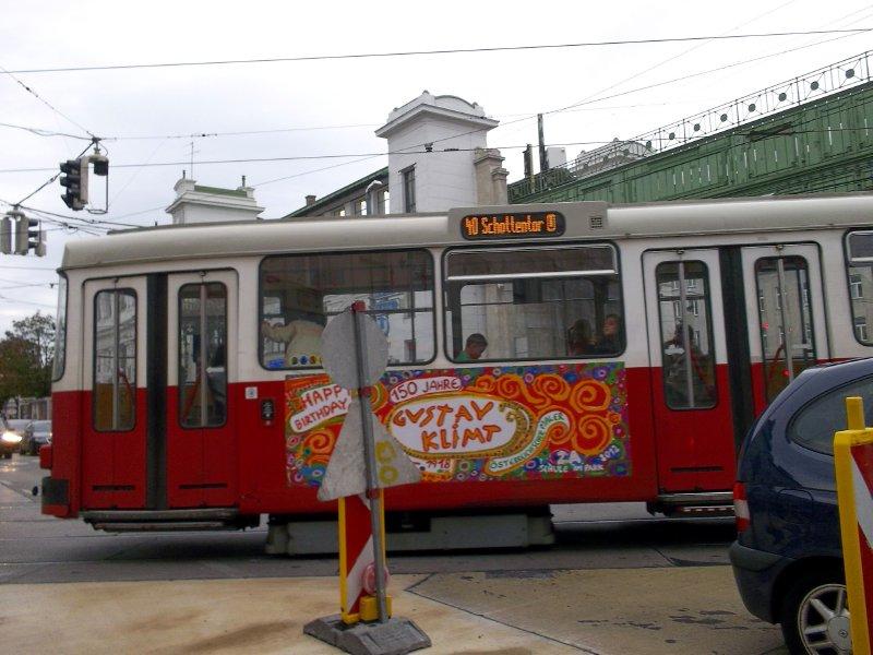 AU_Vienna - Gustav Klimt tramway