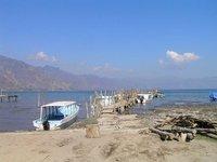 GUATEMALA - Lago Atitlan - San Pedro la Laguna - boats