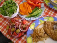 Vienna_lunch at home