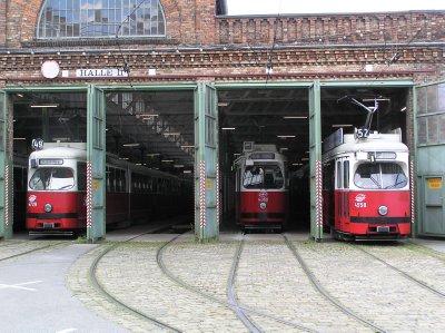 AU_Vienna - tram parking