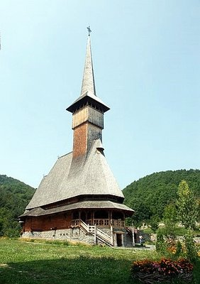 woodden church in Maramures
