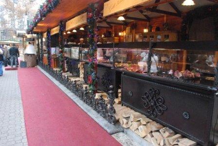 Christmas Market Food Budapest