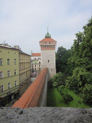 krakow wall