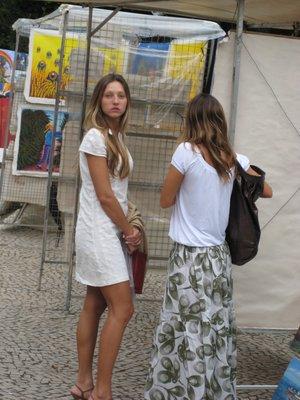 Hippy market in Rio