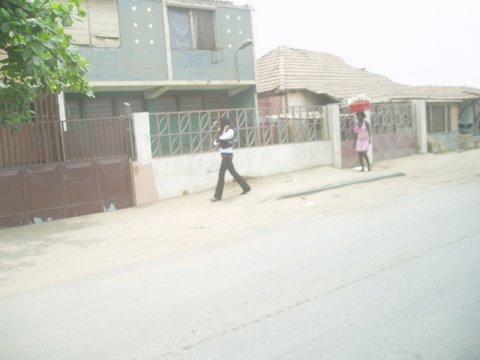 Typical roadside scene