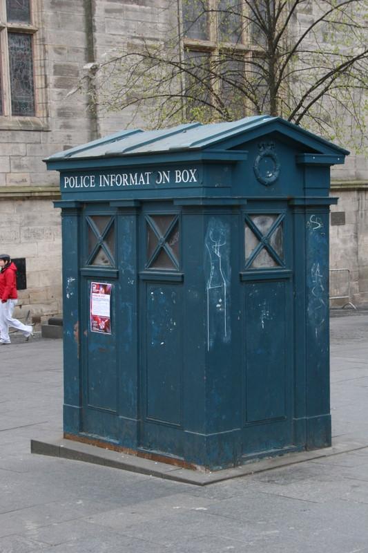 Edinburgh police box