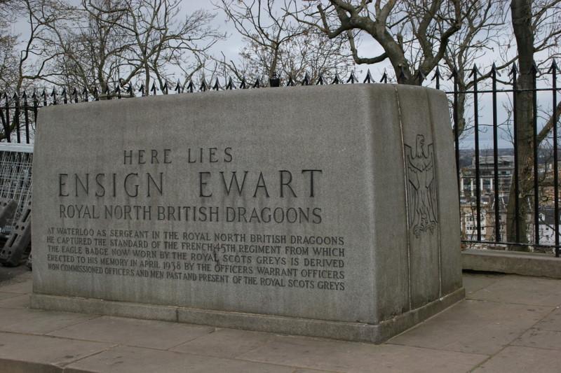 Edinburgh castle memorial 2