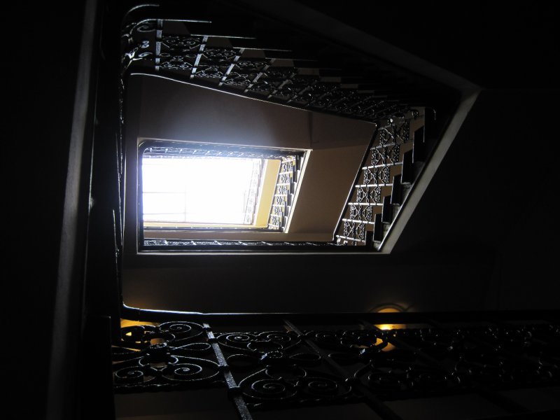 stairway to the room