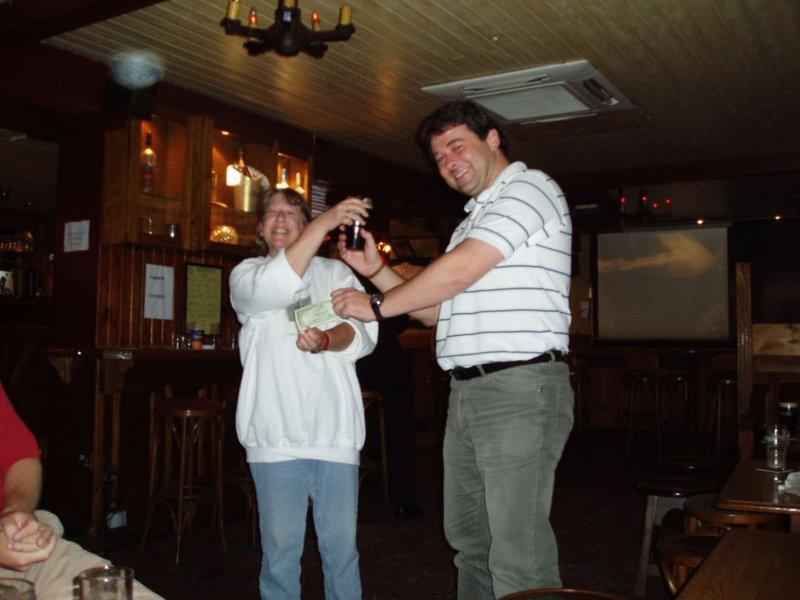 Dublin 15 - the award to the victor