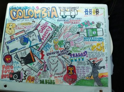 Colombia drawing