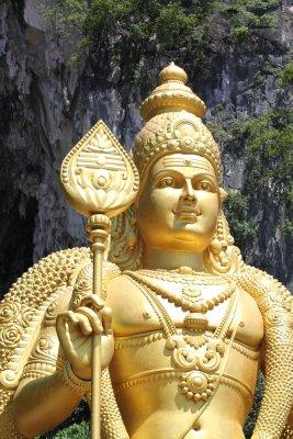 Muruga, also known as Lord Subramaniam.