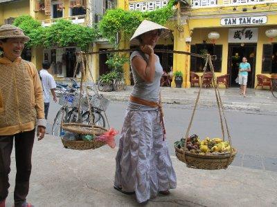 Me as street vendor