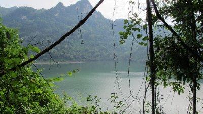 Lake at Ba Be National Park