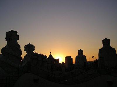 Terrace  - Casa Mila