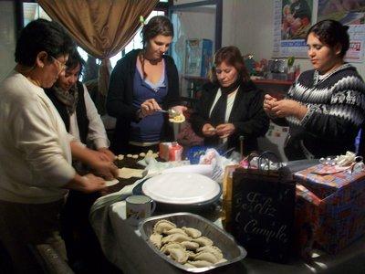 cooking Empanadas in Salta