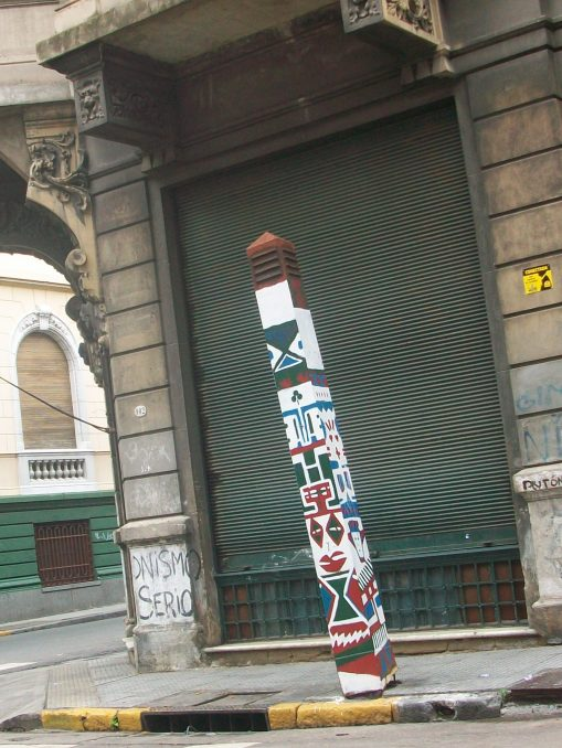 El obelisco de San Telmo
