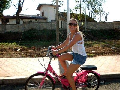 Sykkeltur i Luang Prabang