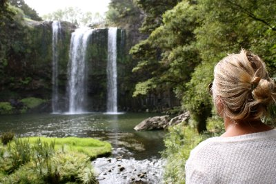 Whangarai waterfalls