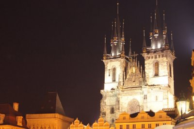 Night time Prague3