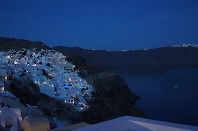 Oia by night