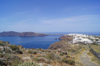 Oia to Fira