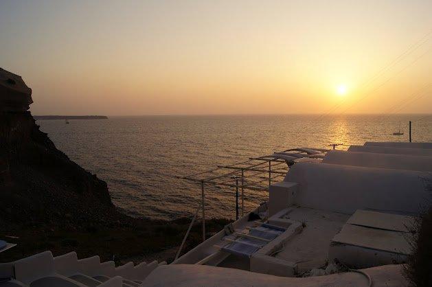Sunset at Kathos