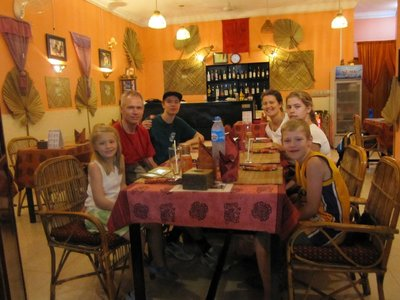 Niels´fødselsdag på Khmer restaurant