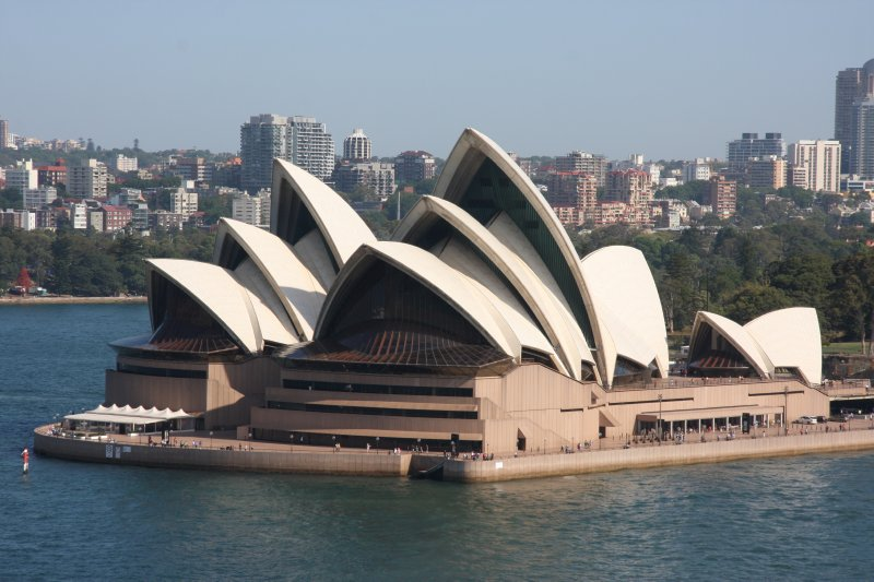 The Opera House from the Harbour Bridge