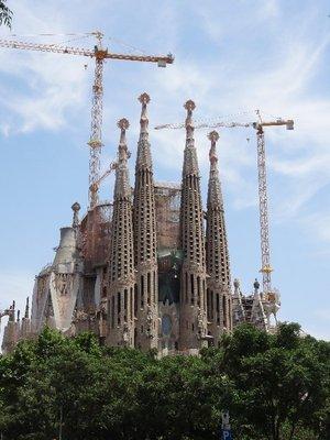 Basilica De La Sagrada Familia 1