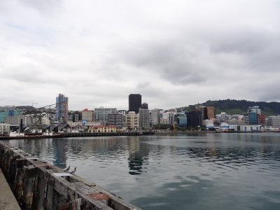Wellington from the wharf