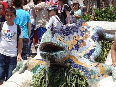 Park Guell lizard