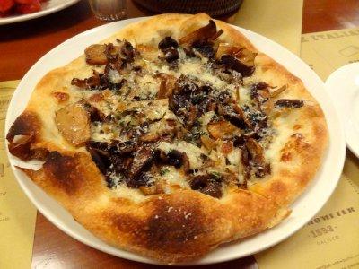 Mushroom Pizza at Mozza