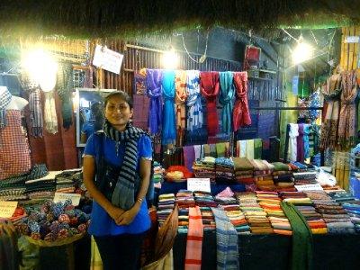 Sambo and her stall