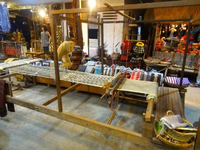 Traditional Cambodian Loom