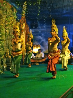 Apsara Dancers I