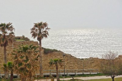 Caesarea and The Med